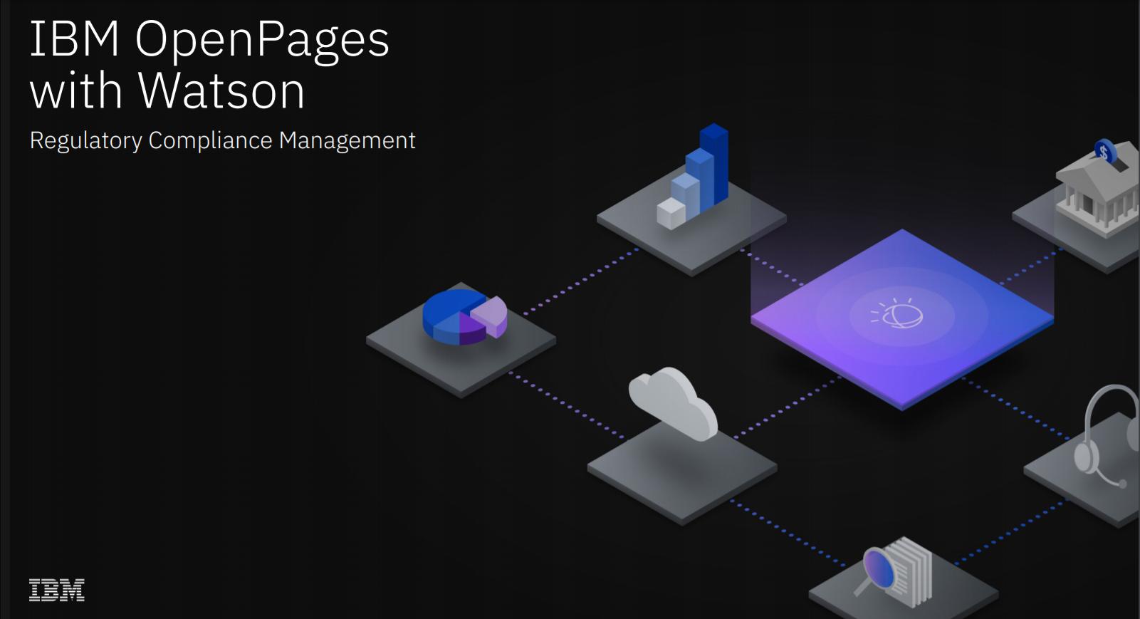 IBM OpenPages Regulatory Compliance Management Software